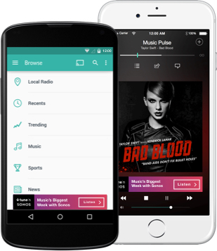 TuneIn Devices